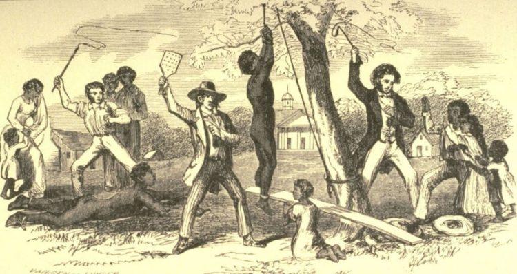 Наказания рабов в США