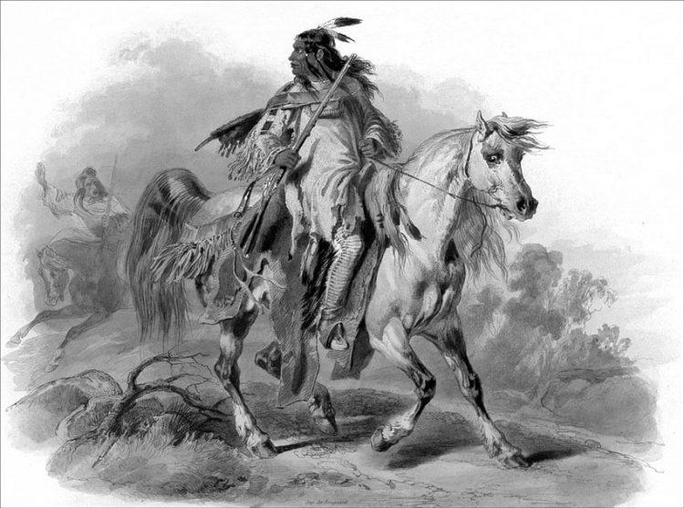 Индеец Апачи