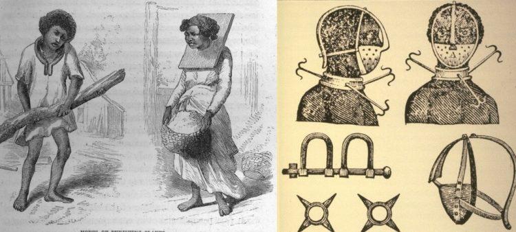 Наказания для чернокожих рабов в США