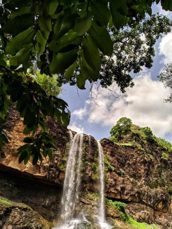 Водопад Шитла Мата, Рампурия Баджрг, Мадхья-Прадеш, Индия