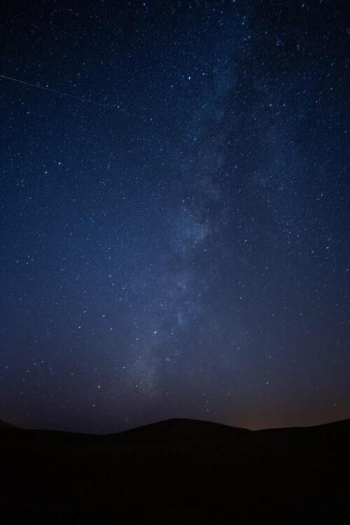 Ночное небо Сахары