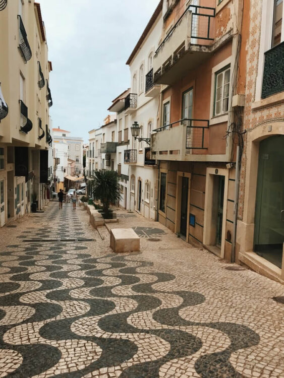 Улицы Лагуша, Португалия