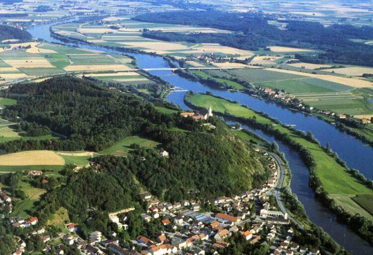 Боген, гора Богенберг, Дунай