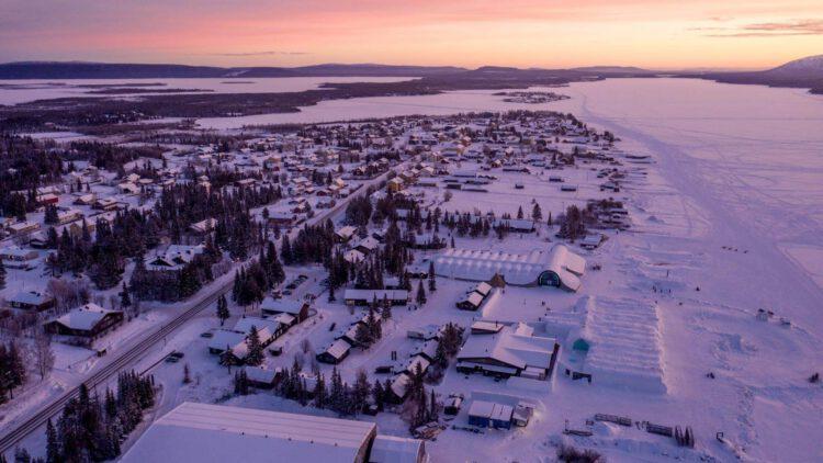 Вид на отель из воздуха