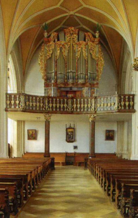 "Гора Bogenberg- Церковь ""Sankt Maria Himmelfahrt"". Орган"