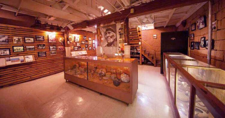 Музей Гудлинга в долине монументов внутри