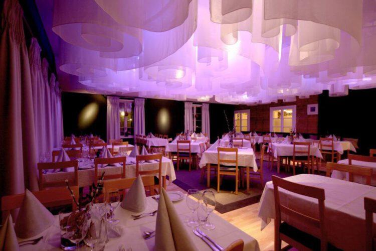 Ресторан в Ледяном отеле