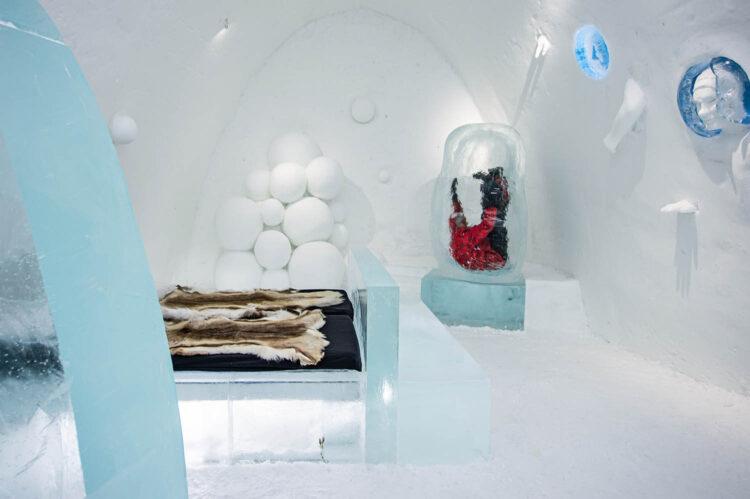 Комната в Ледяном отеле