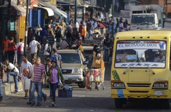 Люди в районе Петаре в Каркасе