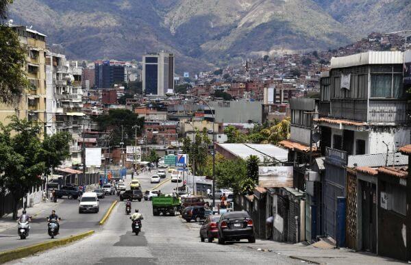 Вид на окрестности Петаре в Каракасе