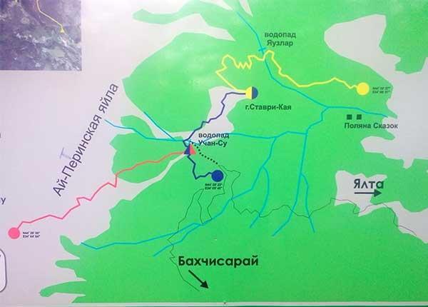 Схема троп ай-петри