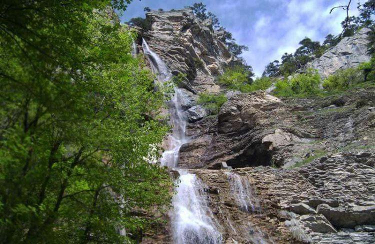 Водопад Учан-Су ай-петри