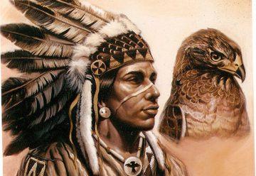 Головной убор индейцев