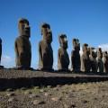 Статуи Моаи - остров Пасхи