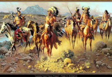 Лидер индейцев Апачи