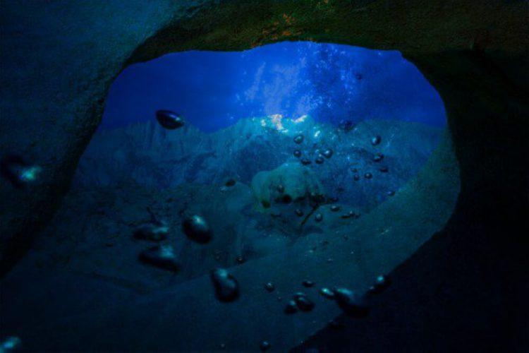 Подводные мосты в Марианской впадине